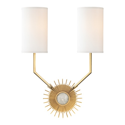 Hudson Valley Lighting Hudson Valley Lighting Borland Aged Brass Sconce 5512-AGB