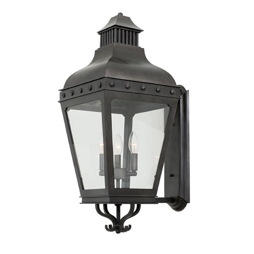 Kalco Lighting Kalco Shorecrest Aged Iron Outdoor Wall Light 403322AI