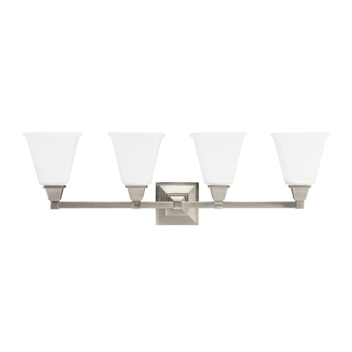 Sea Gull Lighting Sea Gull Lighting Denhelm Brushed Nickel LED Bathroom Light 4450404EN3-962