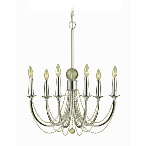 AF Lighting Shelby Chandelier 7701-6H