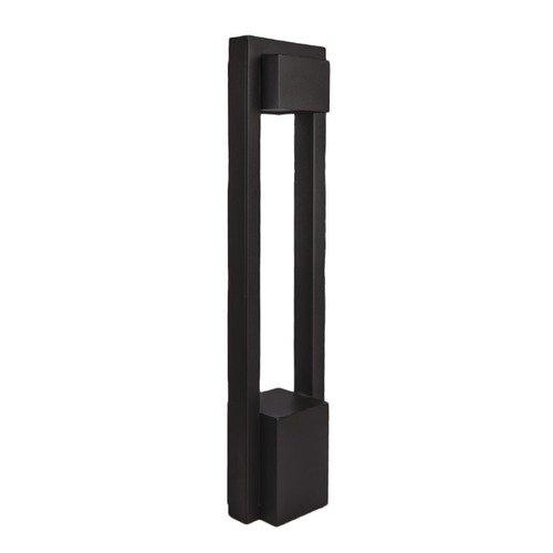 WAC Lighting Park LED 120V Bollard 6642-27BK
