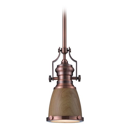 Elk Lighting LED Mini-Pendant Light 66712-1-LED