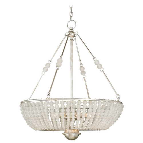 Currey and Company Lighting Currey and Company Lighting Silver Granello Pendant Light 9525