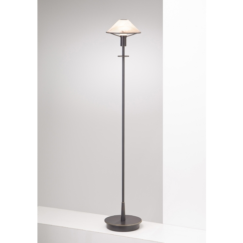 Holtkoetter Lighting Holtkoetter Modern Floor Lamp with Alabaster Glass in Hand-Brushed Old Bronze Finish 6515 HBOB ABR