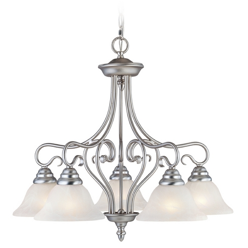 Livex Lighting Livex Lighting Coronado Brushed Nickel Chandelier 6135-91