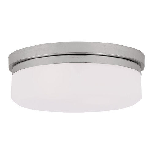 Livex Lighting Livex Lighting Isis Chrome Flushmount Light 7392-05