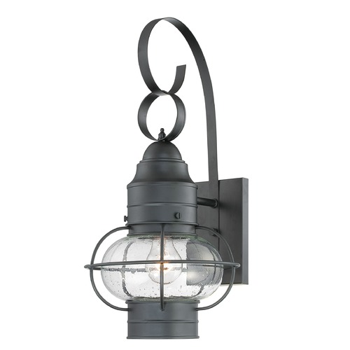 Quoizel Lighting Quoizel Cooper Mystic Black Outdoor Wall Light COR8410KFL
