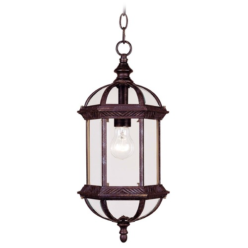 Savoy House Savoy House Rustic Bronze Outdoor Hanging Light 5-0631-72