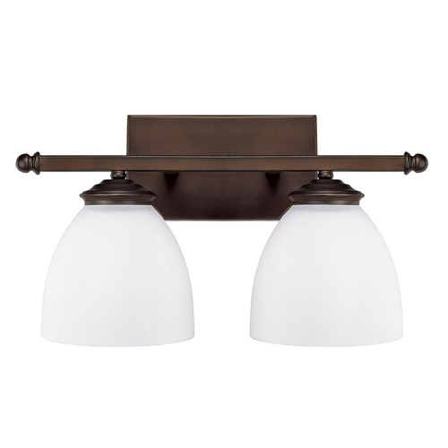 Capital Lighting Capital Lighting Chapman Burnished Bronze Bathroom Light 8402BB-202