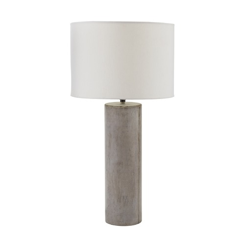 Dimond Lighting Grey Wax Cubix Round Lamp 157-013