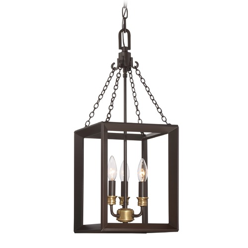 Quoizel Lighting Quoizel Lighting Brook Hall Western Bronze Mini-Pendant Light BKH5303WT