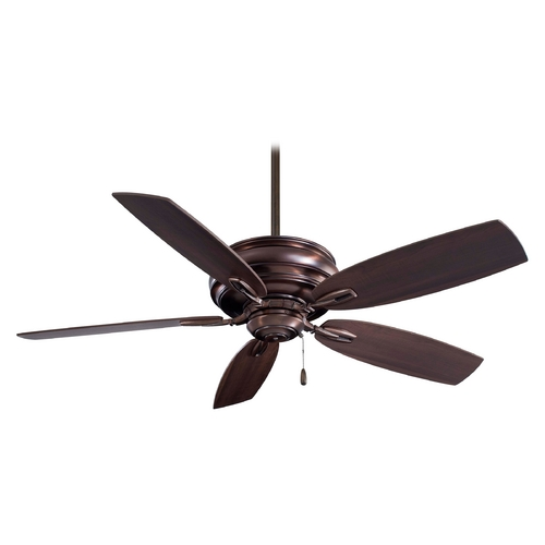 Minka Aire Ceiling Fan Without Light in Bronze Finish F614-DBB