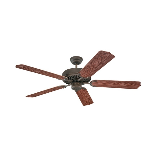 Sea Gull Lighting Ceiling Fan Without Light in Roman Bronze Finish 15046-191