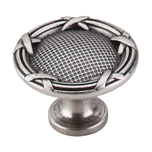 Top Knobs Hardware Cabinet Knob in Pewter Antique Finish M941