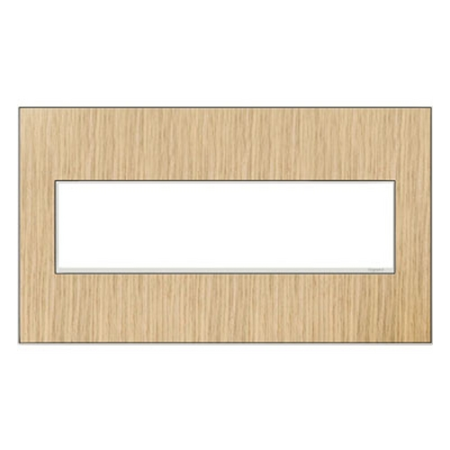 Legrand Adorne Legrand Adorne French Oak 4-Gang Switch Plate AWM4GFH4