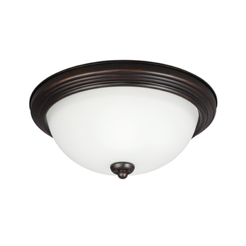 Sea Gull Lighting Sea Gull Lighting Ceiling Flush Mount Burnt Sienna Flushmount Light 79263BLE-710