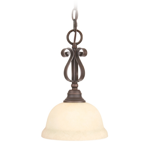 Livex Lighting Livex Lighting Manchester Imperial Bronze Mini-Pendant Light 6150-58