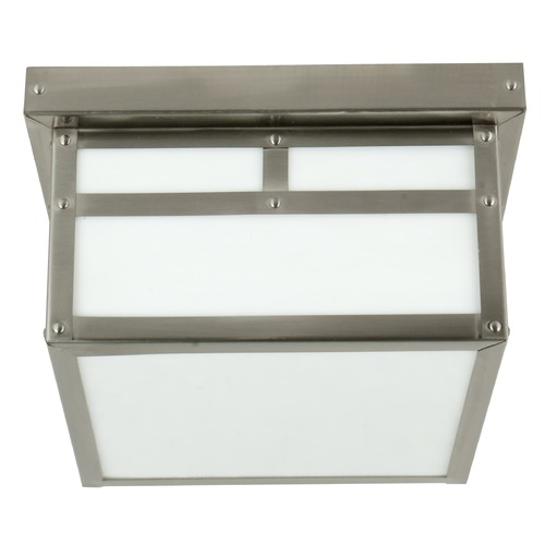 Craftmade Lighting Craftmade Lighting Mission Stainless Steel Close To Ceiling Light Z1843-56
