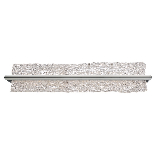Modern Forms by WAC Lighting Vetri Brushed Aluminum LED Bathroom Light - Vertical or Horizontal Mounting WS-3925-AL