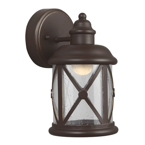 Sea Gull Lighting Sea Gull Lighting Lakeview Antique Bronze LED Outdoor Wall Light 8521492S-71