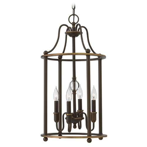 Hinkley Lighting Hinkley Lighting Elaine Light Oiled Bronze Chandelier 4354LZ