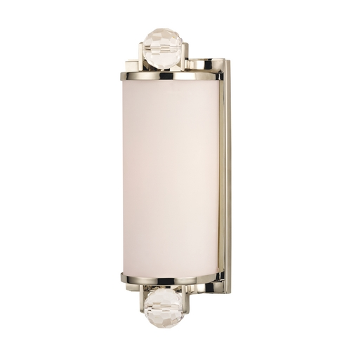 Hudson Valley Lighting Prescott Polished Nickel Bathroom Light 491-PN