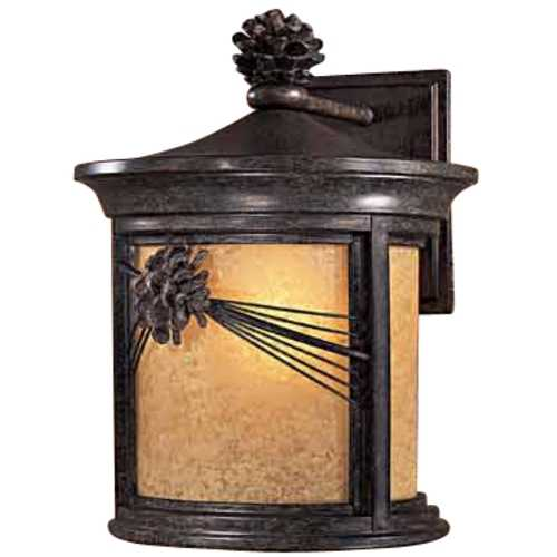 Minka Lavery 12-1/2-Inch Outdoor Wall Light 9152-A357-PL