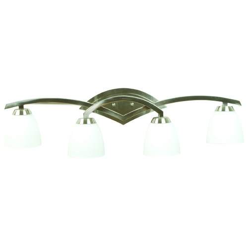 Jeremiah Lighting Jeremiah Viewpoint Brushed Satin Nickel Bathroom Light 14035BN4