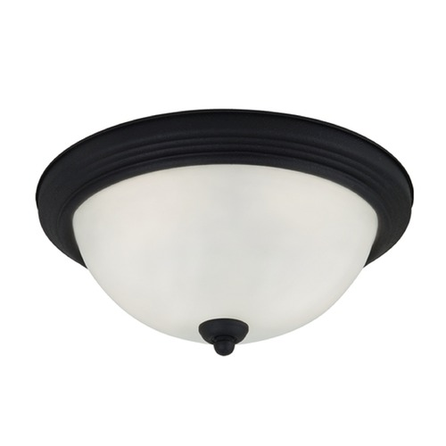 Sea Gull Lighting Sea Gull Lighting Ceiling Flush Mount Blacksmith Flushmount Light 79163BLE-839