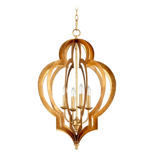 Cyan Design Cyan Design Vertigo Gold Leaf Pendant Light 05973