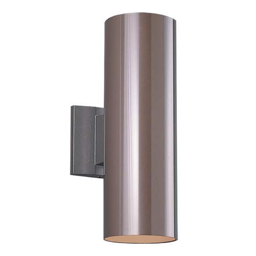 Sea Gull Lighting Sea Gull Lighting Outdoor Bullets Bronze Outdoor Wall Light 8313902-10