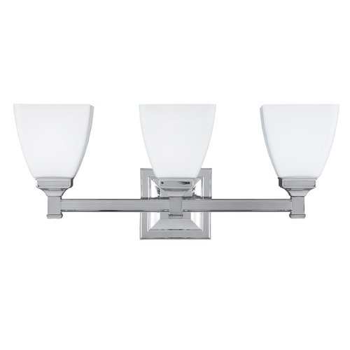 Feiss Lighting Feiss Lighting Putnam Chrome Bathroom Light VS22803CH