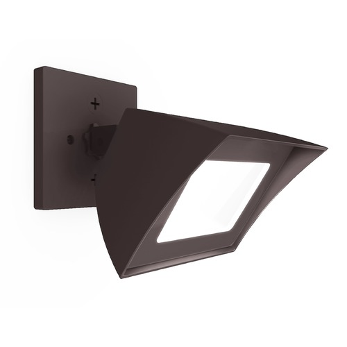 WAC Lighting WAC Lighting Endurance Architectural Bronze LED Security Light WP-LED335-50-aBZ