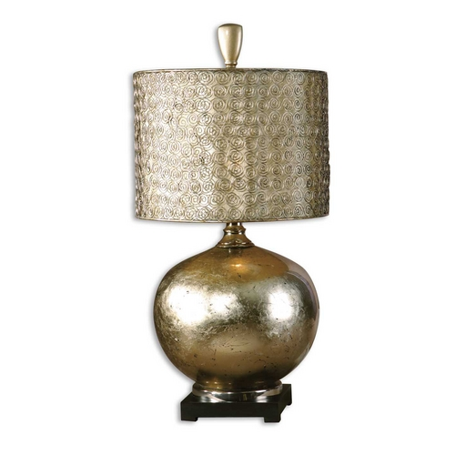 Uttermost Lighting Table Lamp in Antique Silver / Champagne Finish 27944-1