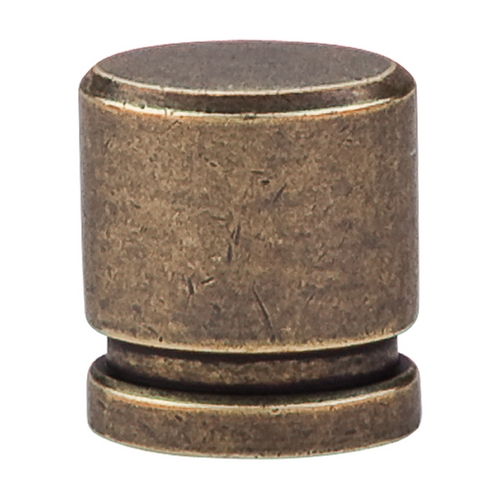 Top Knobs Hardware Modern Cabinet Knob in German Bronze Finish TK57GBZ