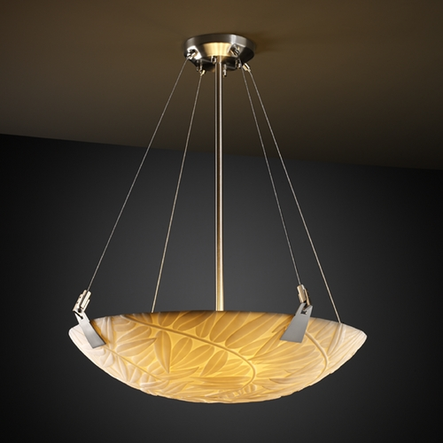Justice Design Group Justice Design Group Porcelina Collection Pendant Light PNA-9641-35-BMBO-NCKL