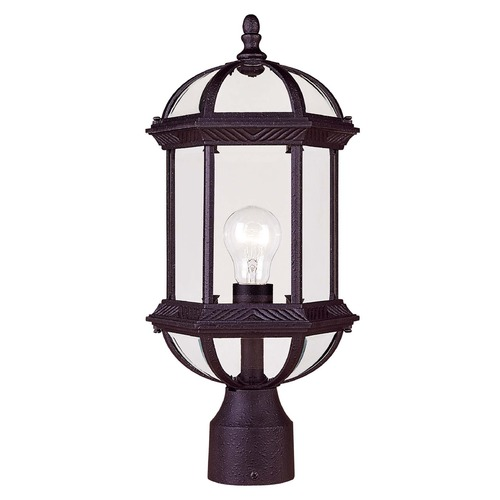 Savoy House Savoy House Textured Black Post Light 5-0632-BK