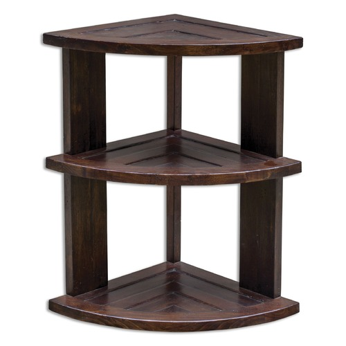 Uttermost Lighting Uttermost Claro Hickory Accent Table 25652