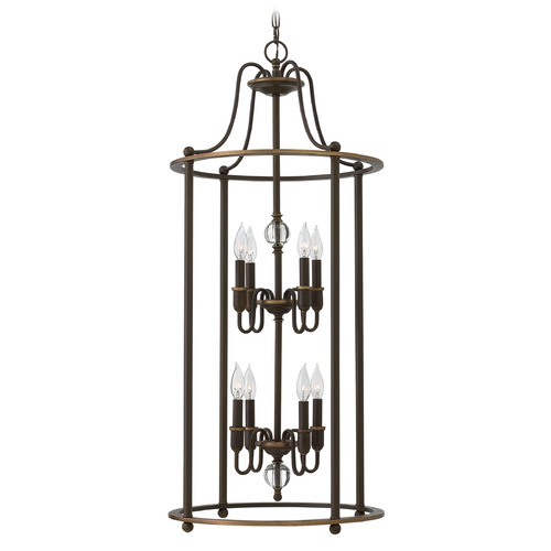 Hinkley Lighting Hinkley Lighting Elaine Light Oiled Bronze Chandelier 4358LZ