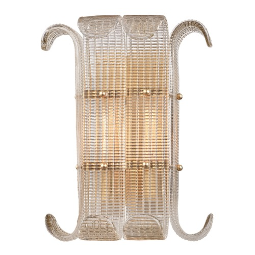 Hudson Valley Lighting Hudson Valley Lighting Brasher Aged Brass Sconce 2902-AGB