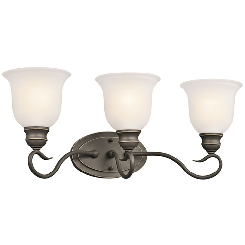 Kichler Lighting Kichler Lighting Tanglewood Olde Bronze LED Bathroom Light 45903OZL16
