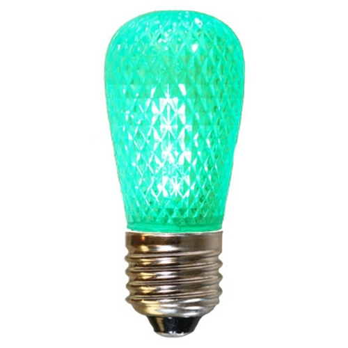 American Lighting American Lighting Green Color S14 LED Light Bulb - 10-Watt Equivalent S14-LED-GR