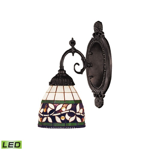 Elk Lighting Elk Lighting Mix-N-Match Tiffany Bronze LED Sconce 071-TB-13-LED
