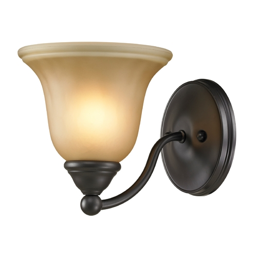 Cornerstone Lighting Cornerstone Lighting Shelburne Oil Rubbed Bronze Sconce 5501BB/10