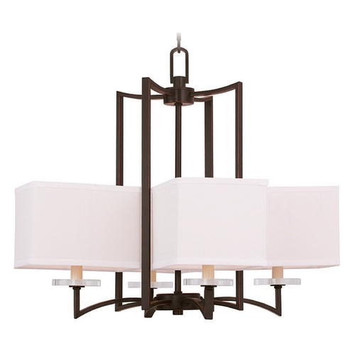 Livex Lighting Livex Lighting Woodland Park Olde Bronze Chandelier 50705-67