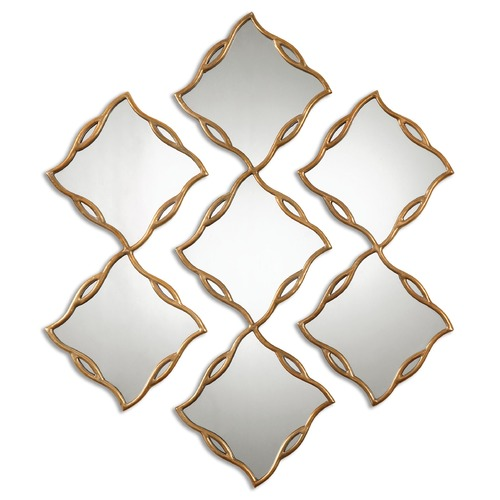 Uttermost Lighting Uttermost Terlizzi Gold Mirrors, Set of 3 12918