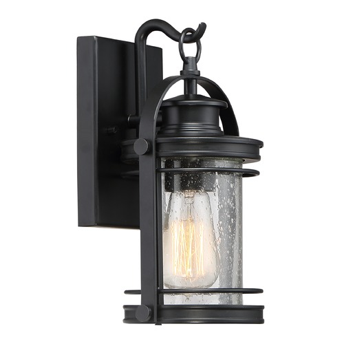 Quoizel Lighting Quoizel Lighting Booker Mystic Black Outdoor Wall Light BKR8406K