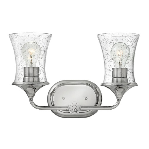 Hinkley Lighting Hinkley Lighting Thistledown Polished Nickel Bathroom Light 51802PN