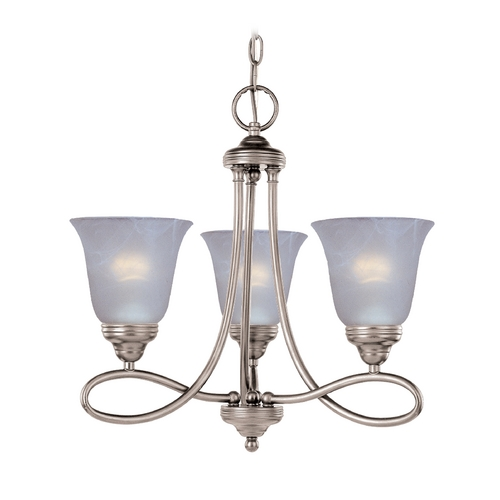 Maxim Lighting Maxim Lighting Nova Satin Nickel Mini-Chandelier 11042MRSN