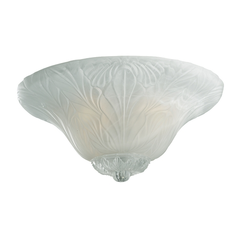 Monte Carlo Fans Light Kit with Alabaster Glass Shades in White Faux Alabaster Finish MC172-L